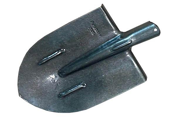 Лопата штыковая из рельсовой стали (сталь 65Г)